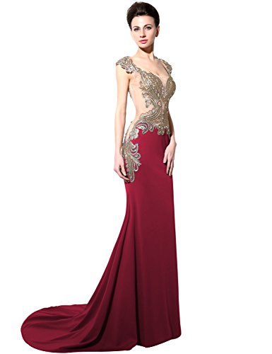0176800b80b Sarahbridal Women s Mermaid Evening Dress Formal Long Prom Gowns